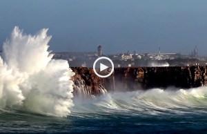 A tempestade Hércules no Algarve