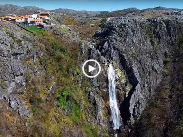 Cascata da Mizarela, uma das maiores da Europa