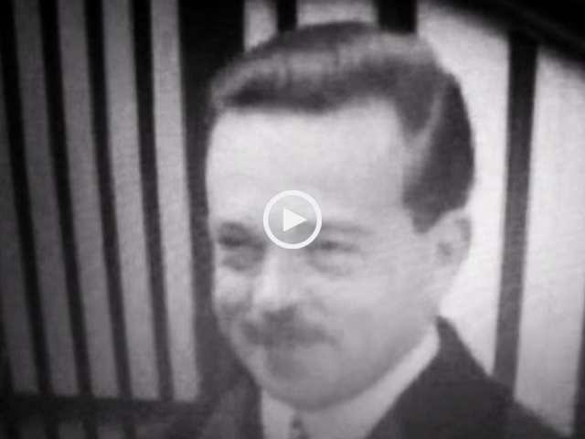Uma pérola! Imagens em vídeo do último Rei de Portugal!