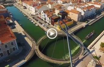 Aveiro, cidade única em Portugal!
