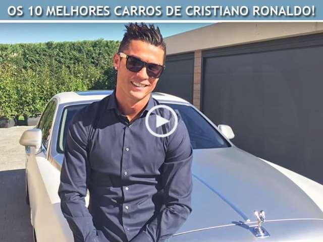 Os 10 Melhores Carros de Cristiano Ronaldo!
