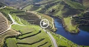 Porto e Douro de Helicóptero