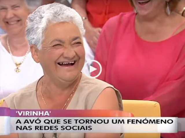 Avó Virinha, um fenómeno nas redes sociais