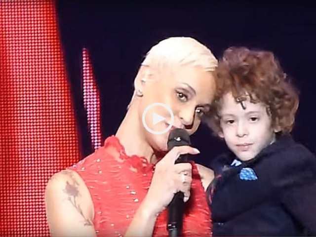 Emocionante! Mariza apresenta o seu filho!