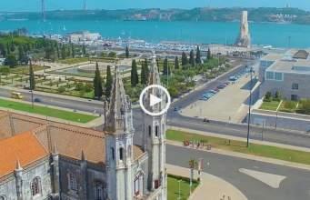 Fabuloso! Um Drone em Portugal!