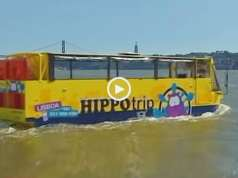 Hippotrip o Autocarro que também é um barco