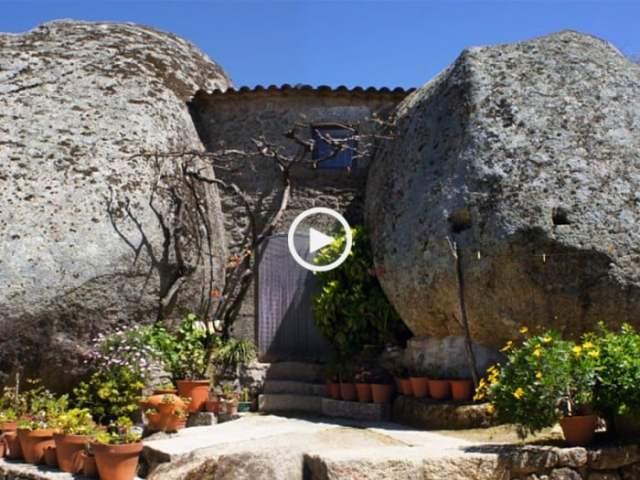 Monsanto, a aldeia esculpida no granito