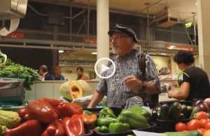 Espetacular surpresa no Mercado, em Coimbra!