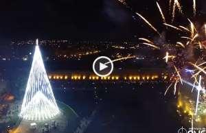 A maior árvore de Natal em Portugal!