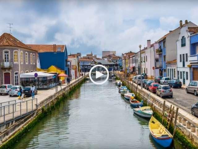 Bela e Magnífica Cidade de Aveiro! (Ultra Alta Definição)