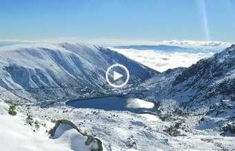 O manto branco da Serra da Estrela!