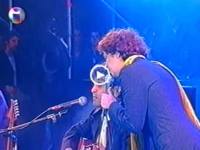 Dulce Pontes e Caetano Veloso