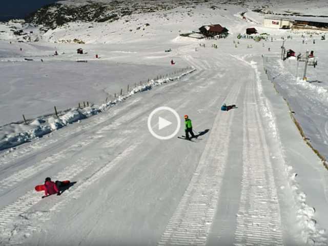 Fantástica Estância de Ski da Serra da Estrela!