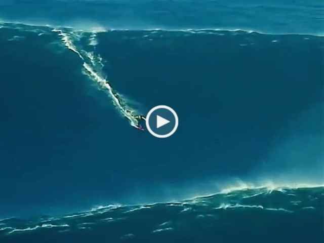 Nazaré! McNamara e a onda de 27 metros!