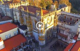 Impressionante Convento de Cristo, em Tomar (Ultra Alta Definição)