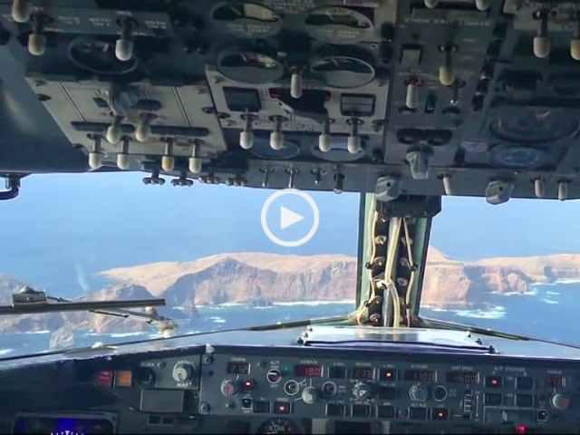 Turbulência! Aterragem incrível na Ilha da Madeira