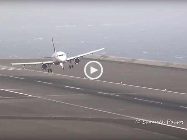 Madeira aterragens extremas