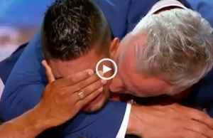 Emocionante! Mickael dos Santos recebe botão dourado no France's Got Talent!
