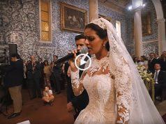 Cuca Roseta canta AVÉ MARIA no seu casamento