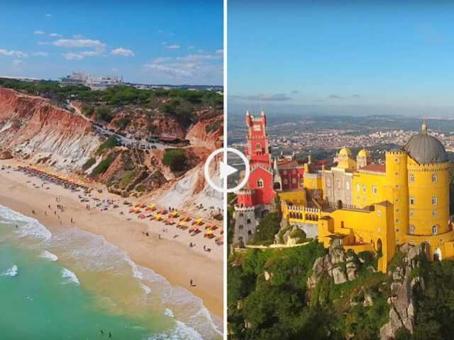 Algarve a Sintra