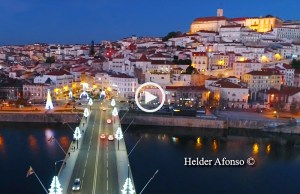 Coimbra mágica ao pôr do sol
