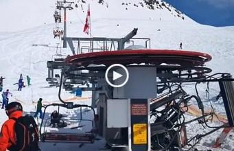 Esquiadores feridos em acidente com teleférico na Georgia