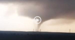 O poder do tornado em Faro