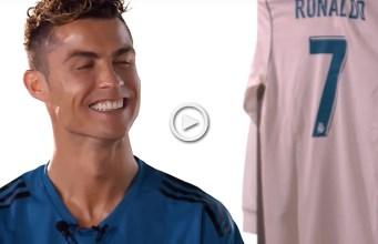 Ronaldo responde a perguntas pessoais