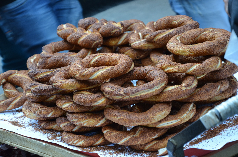 Simit - Turkish donut