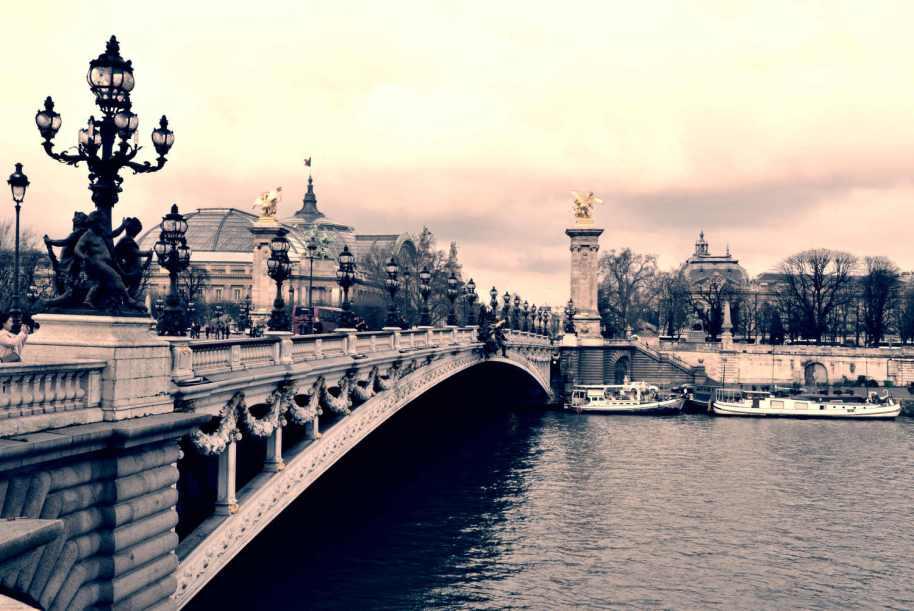 Valentýnská Paříž