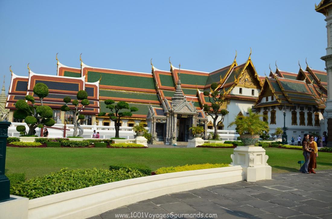 Královský palác v Bangkoku - Phra Maha Monthien