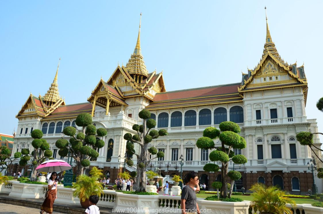 Královský palác v Bangkoku - Chakri Maha Prasad