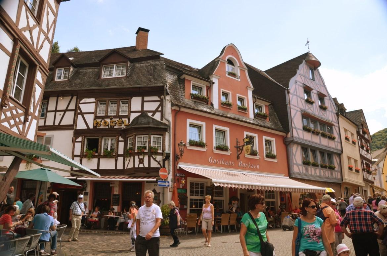 uličky Bernkastel-Kues