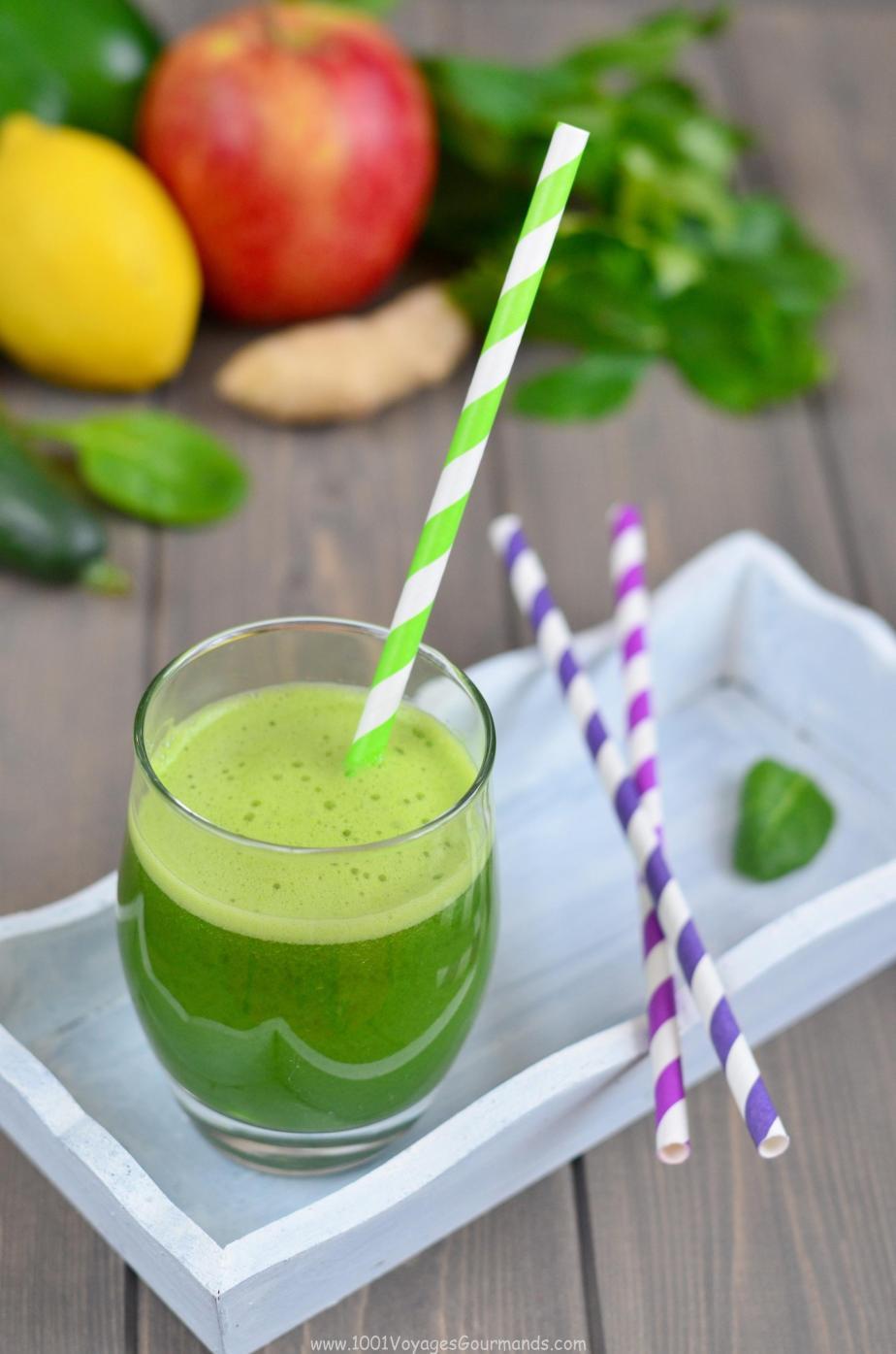 Zelený detoxikační džus3