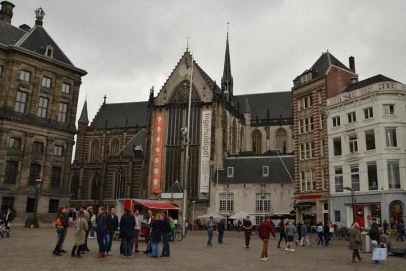 Nieuwe Kerk v Amsterdamu