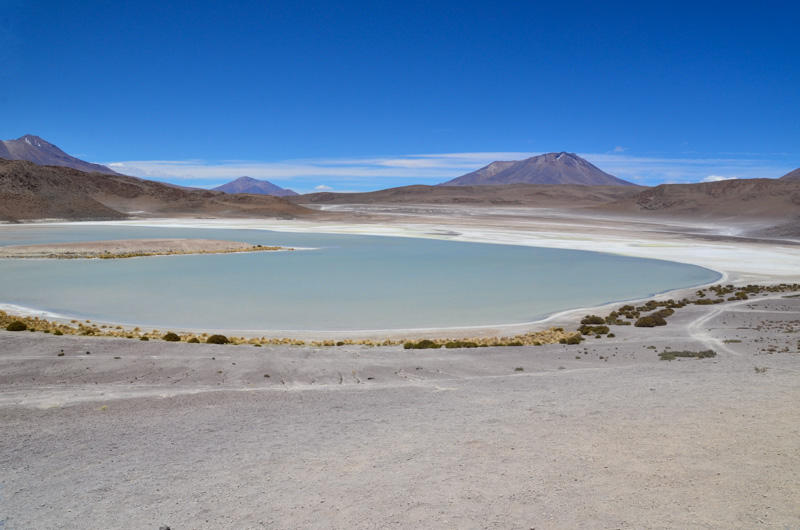 The most beautiful landscapes of the Andes can be found in the region Sud Lípez: colourful laguna, volcanos, geysers or a surrealist desert.
