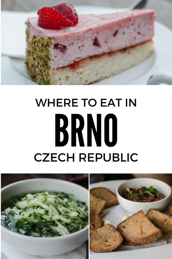 Here are few tips on where to eat and where to have a drink in the center of the city based on my awesome food experience in Brno.