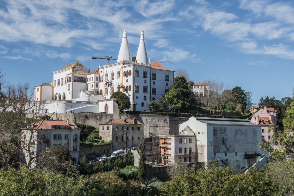 Day trip from Lisbon to Sintra is a perfect trip for a romantic soul and visiting Pena Palace will bring you back to your childhood.
