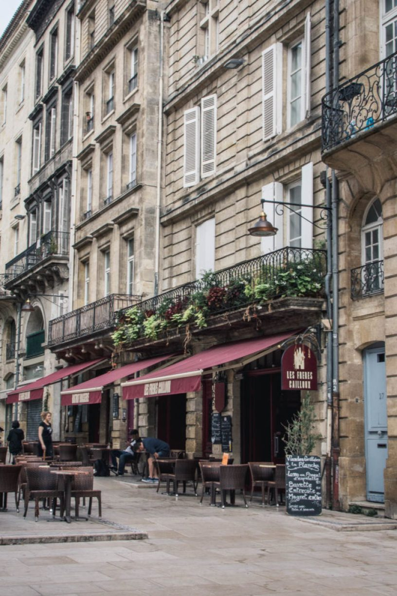 By the end of September, I met my friends in Bordeaux and we enjoyed a nice weekend in the town and beyond, with some wine degustation too.