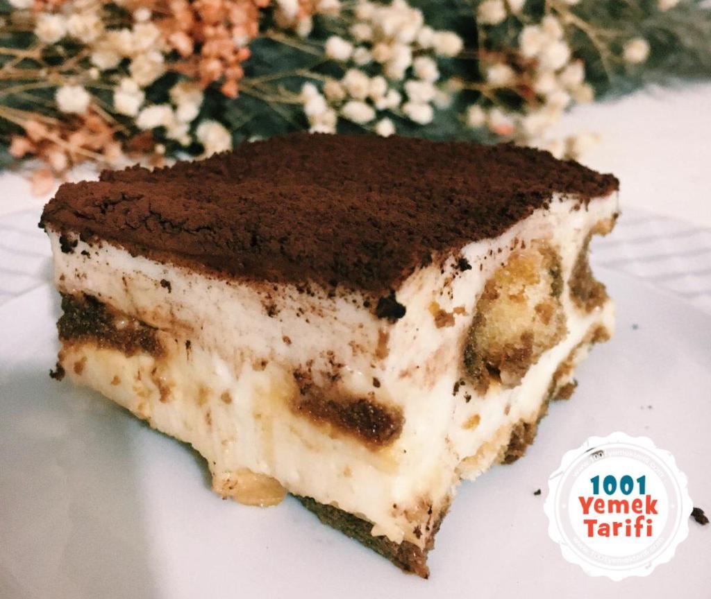 kedidili bisküvili tiramisu pastası tarifi yapımı nasıl yapılır-tatlısı