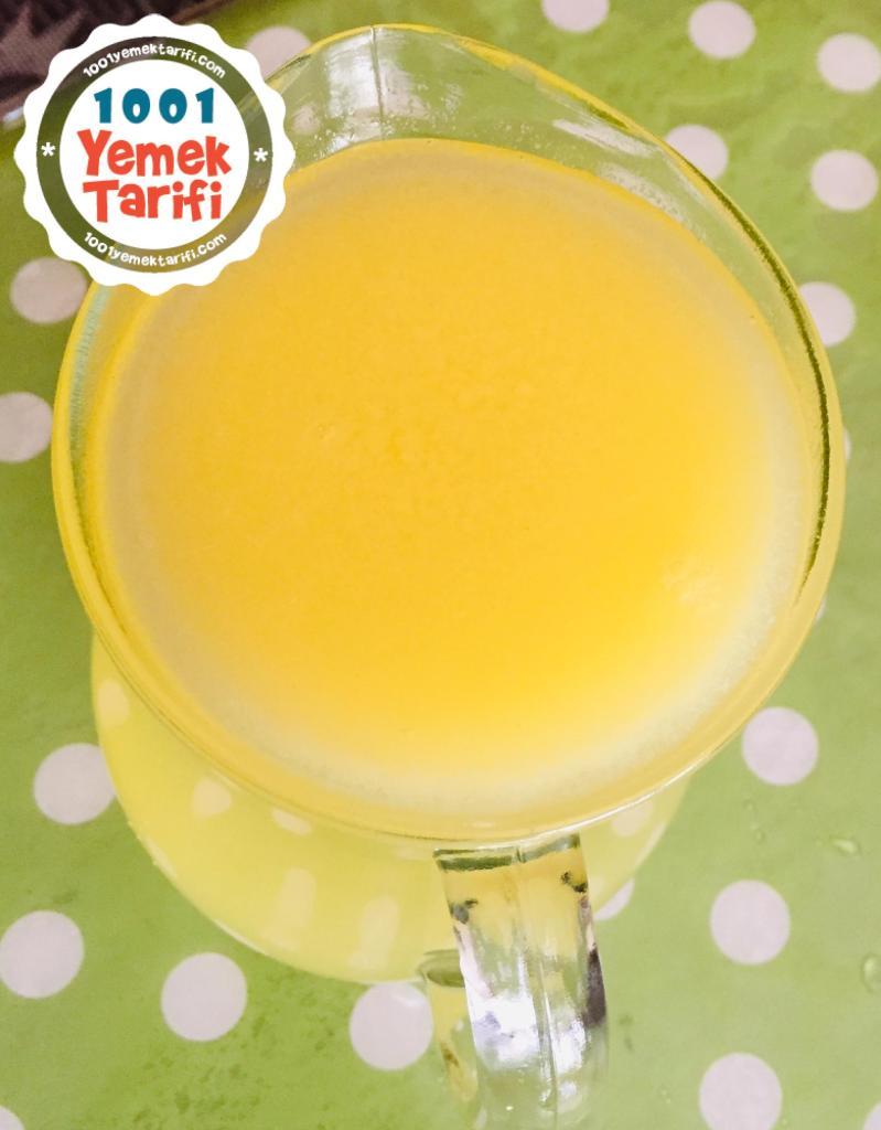 Ev Yapımı Limonata Tarifi-nasıl yapılır-kaç kalori