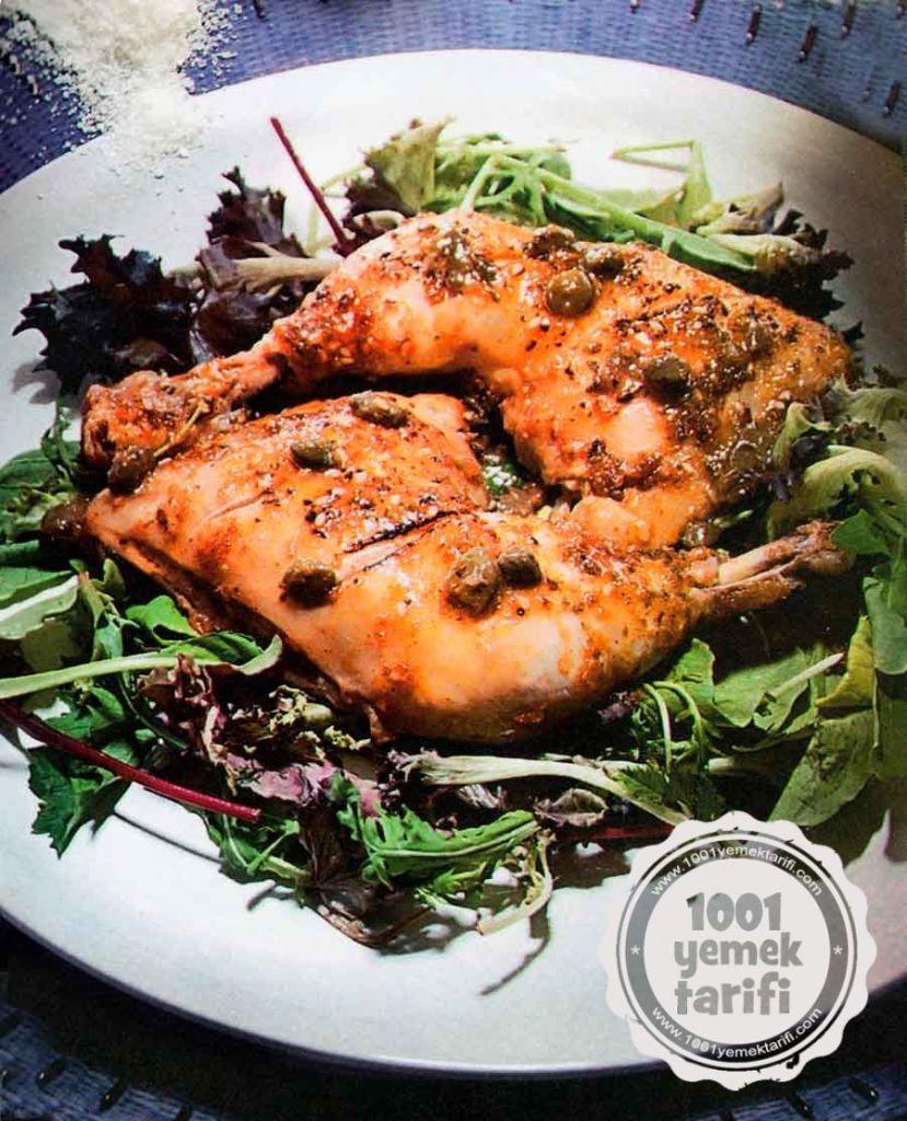 Nefis Tavuk But Tarifi-Kapari ve Susamli Tavuk But Yapimi-kac kalori-kolay pratik-ev yemekleri-1001yemektarifi
