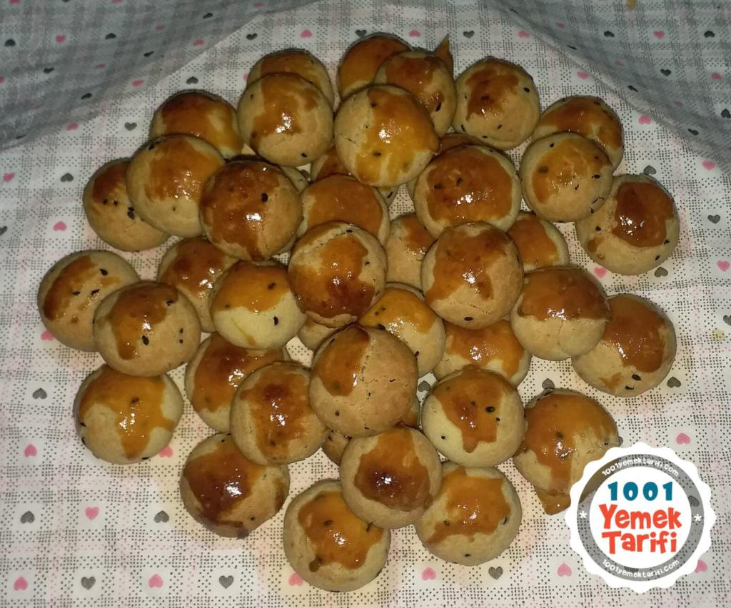 Zeytinyağlı misket kurabiye tarifi