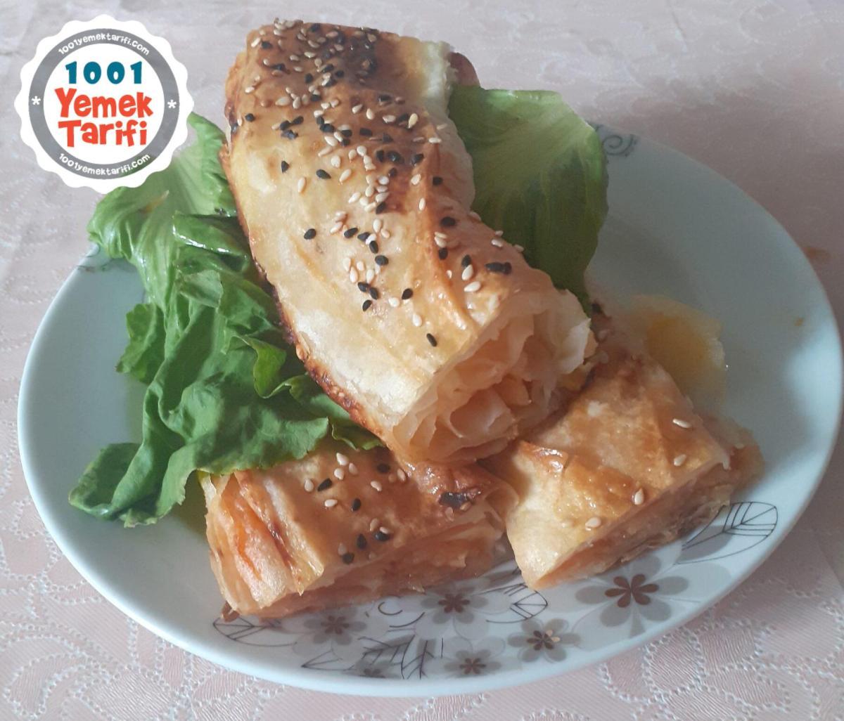 Patatesli Rulo Börek Tarifi