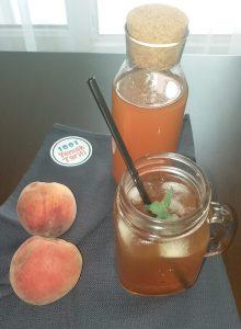 Ev Yapımı Mis Gibi Şeftalili Buzlu Çay (Ice tea) Tarifi