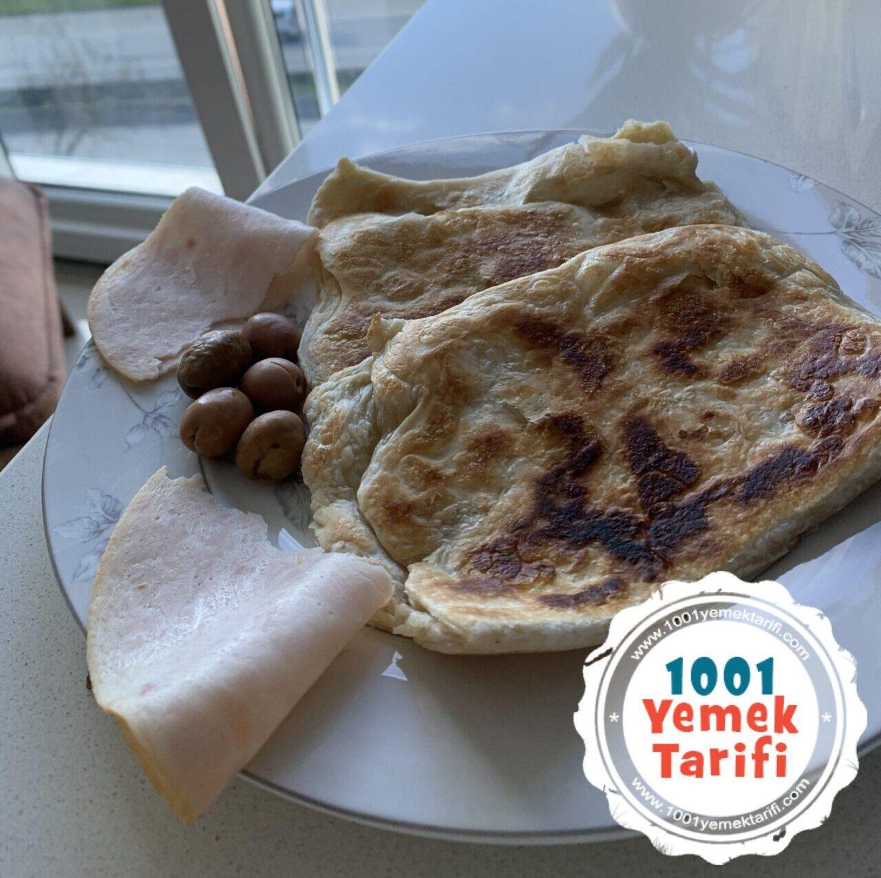Milföy hamurundan Gözleme tarifi