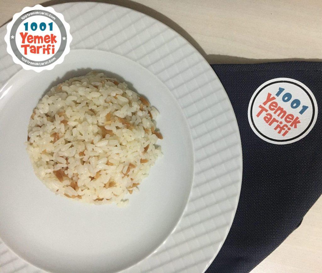 Kolay Pirinç Pilavı