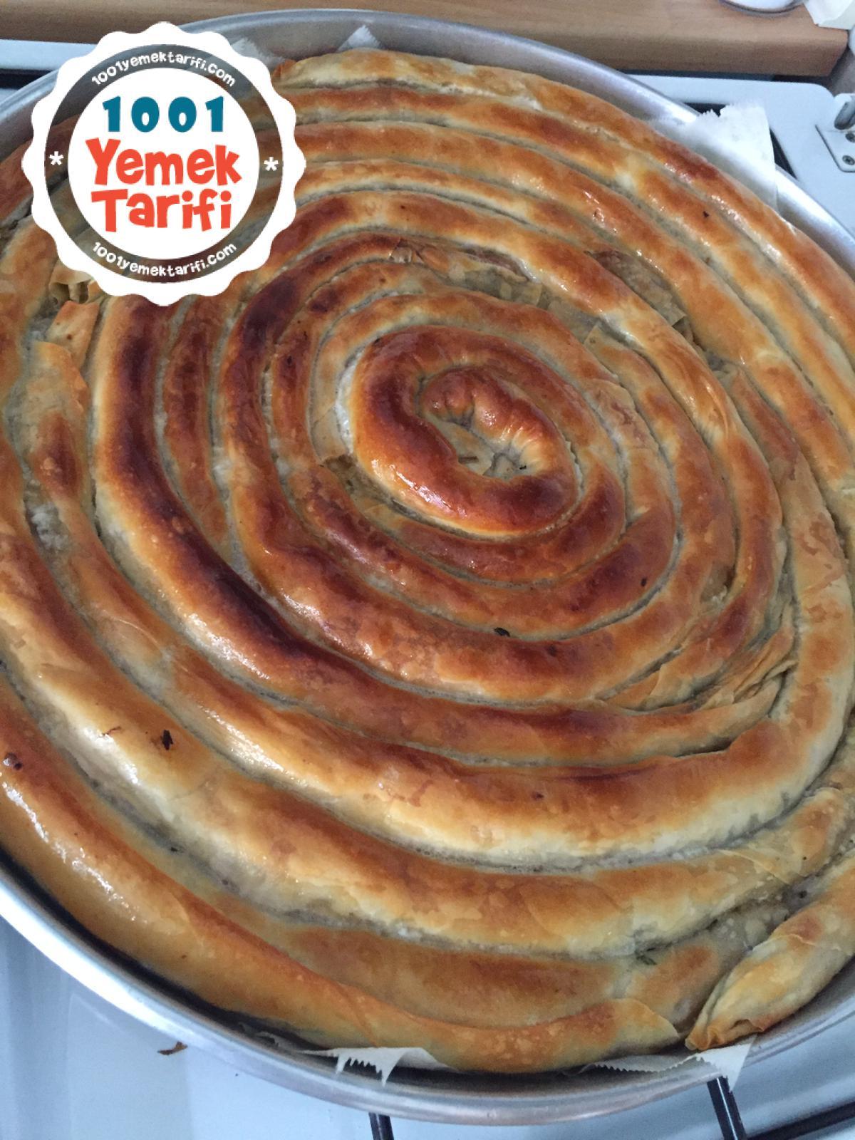 Ispanaklı Börek Tarifi-nasıl yapılır