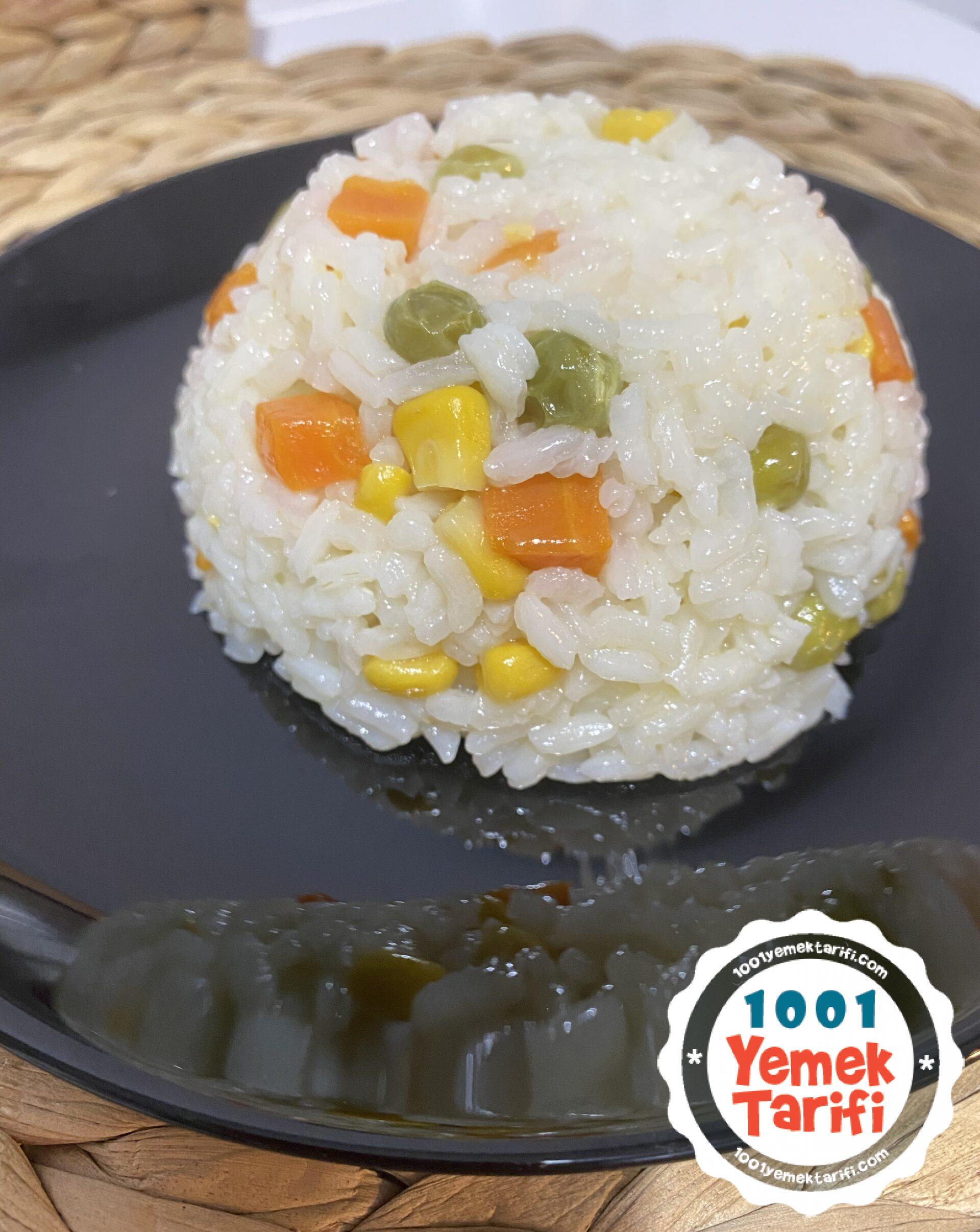 sebzeli pirinç pilavı tarifi nasıl yapılır