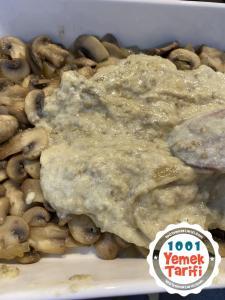 beşamel soslu mantar graten tarifi